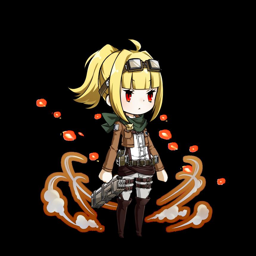 【イベント】アプリあっきのじかんが進撃の巨人とコラボ!調査兵団のアバターをゲット!